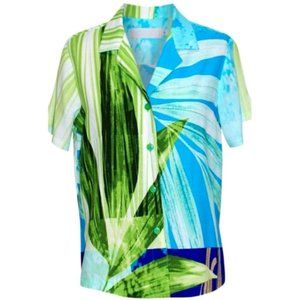 Jams World Print Shirt in Tropic (NWT)